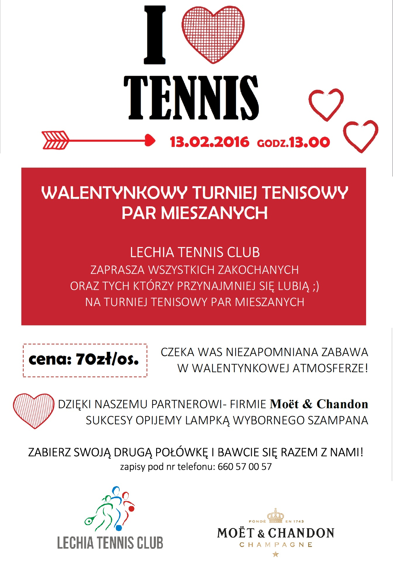 walentynkowy turniej tenisowy