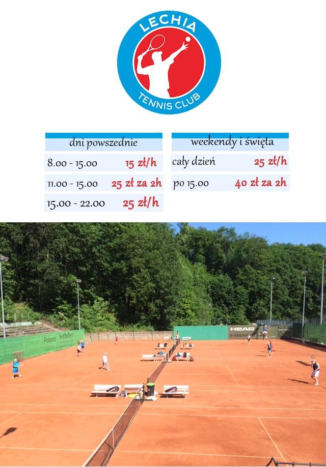 wakacyjna promocja Lechia Tennis Club